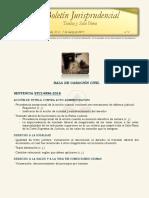 Boletín Jurisprudencial N.º 3 - 2019