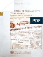 Machuca - La tinta, el pensamiento y las manos. La prensa popular anarquista