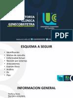 Historia Clinica GINECO-OBSTETRA