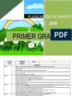Planificación Marzo - 1er Grado 2019
