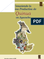 Analisis de La Cadena de Quinua Ayacucho