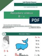 abecedario silábico B-V