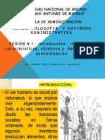 SESION   1 Concepto de administracion.ppt