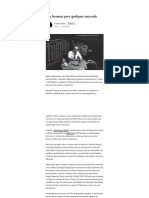 Um Homem Para Qualquer Mercado – Camilo Telles – Medium - A Man for All Markets - Thorp