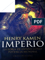 Kamen Henry, Imperio. La Forja de España como potencia mundial