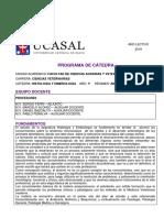 Programa Histología y Embriología