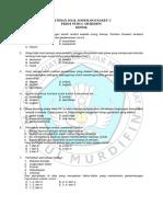 Latihan Soal Sosiologi Paket c