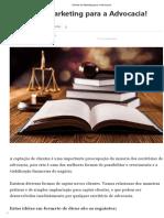 9 Dicas de Marketing Para a Advocacia!