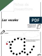 Cuadrenillo Vocales Basico Preescolar