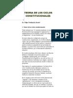 Teoria de Los Ciclos Constitucionales (1)