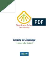 Libro Peregrino Camino de Santiago