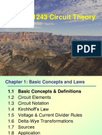 Topic 1. Basic Concepts & Laws (Ch)
