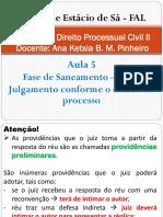 Direito Processual Civil II - Aula 5
