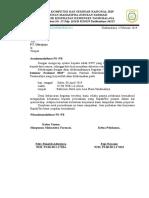 Surat Sponsorship