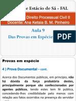 Direito Processual Civil II - Aula 9