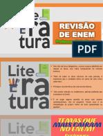 revisão de Enem - literatura