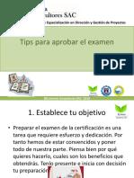 Tips Para Aprobar El Examen CAPM