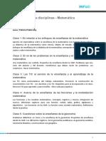 Didactica de Las Disciplinas Matematica