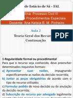 Direito Processual Civil III - Aula 2