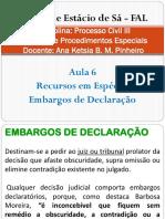 Direito Processual Civil III - Aula 6