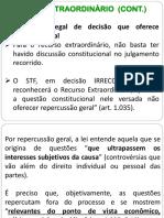 Direito Processual Civil III - Aula 8