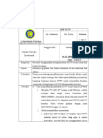 Lembar Rekomendasi Badan Audit Eksternal