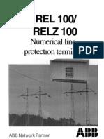 1MDS06004 en en REL 100 RELZ 100 Numerical Line Protection Terminal