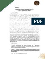 Resumen Ejecutivo Encuentro Del Cafe