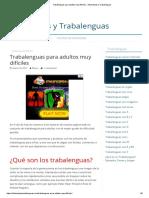 Técnicas de Relajación Para Niños 2 PDF