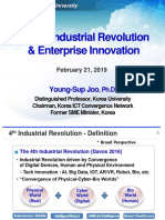 The 4th Industrial Revolution & Enterprise Innovation
