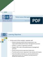 Performance Management PPT 2019