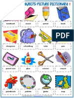classroom objects vocabulary esl picture dictionary worksheet for kids.pdf