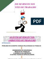 ANÁLISE DE RISCOS NOS AMBIENTES DE TRABALHO.ppt