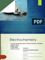 Week 5. Electrochemistry