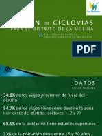Plan de Ciclovías en La Molina