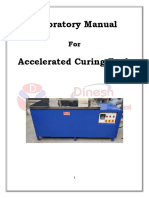 Accelerated Curing Tank Lab Manual