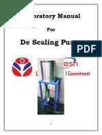 De Scaling Pump Lab Manual