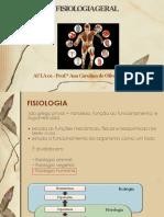 Aula 01 Fisiologia Geral