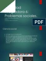 Actividad Integradora 6 Problemas Sociales