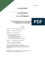 Bautismo Yla Conversion Halles By