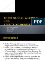 Rapid Global Warming And