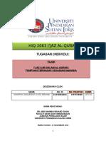 Assignment Ijaz Al-quran