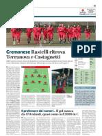 La Provincia Di Cremona 09-03-2019 - Cremonese