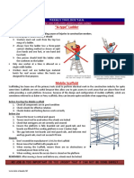 Scaffold and Ladder Safety