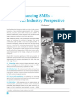 SME Financing - An Industry Perspective