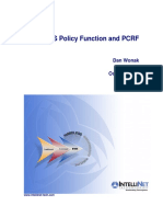 Policy and PCRF