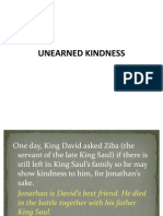 3. Unearned Kindness