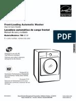 Use & Care Guide 796.4219 L0911184