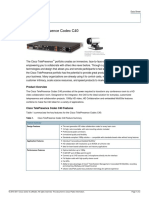 VTC Endpoints - Cisco C40