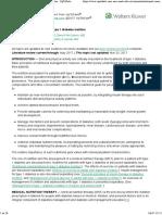 Nutritional Considerations in Type 1 Diabetes Mellitus - UpToDate 2017